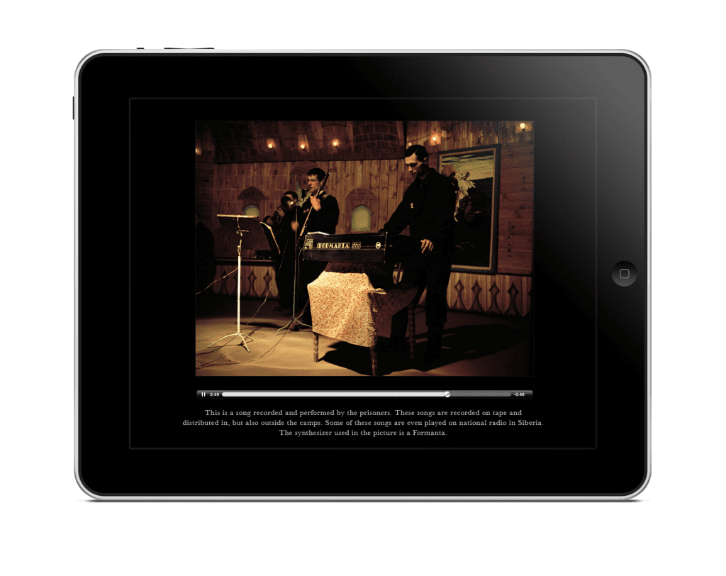 Carl de Keyzer republished his book, Zona, on the iPad, adding videos and audio. Image courtesy of Carl de Keyzer.