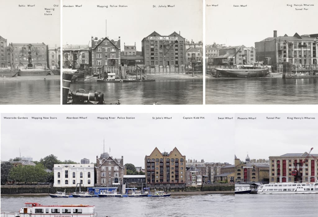 Wapping. Image courtesy of Graham Diprose and Mike Seaborne.