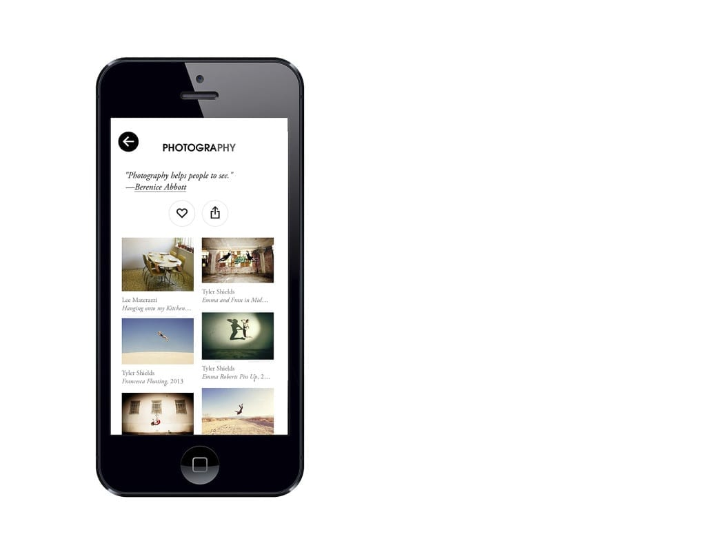 The free Artsy app enables iOS 7 users to not only explore and learn about works of art from all over the world, but to also buy direct from galleries