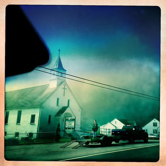 Church Loading, near Bloomingrose, West Virginia. Image courtesy of Luceo Images