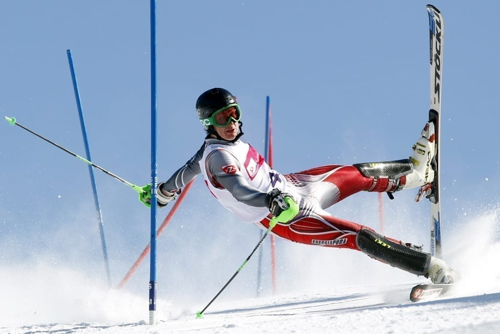 2nd Prize Sports Action Single: Competitor at a slalom contest in Szczyrk, Poland © Andrzej Grygiel, Poland, for PAP-Polska Agencja Prasowa