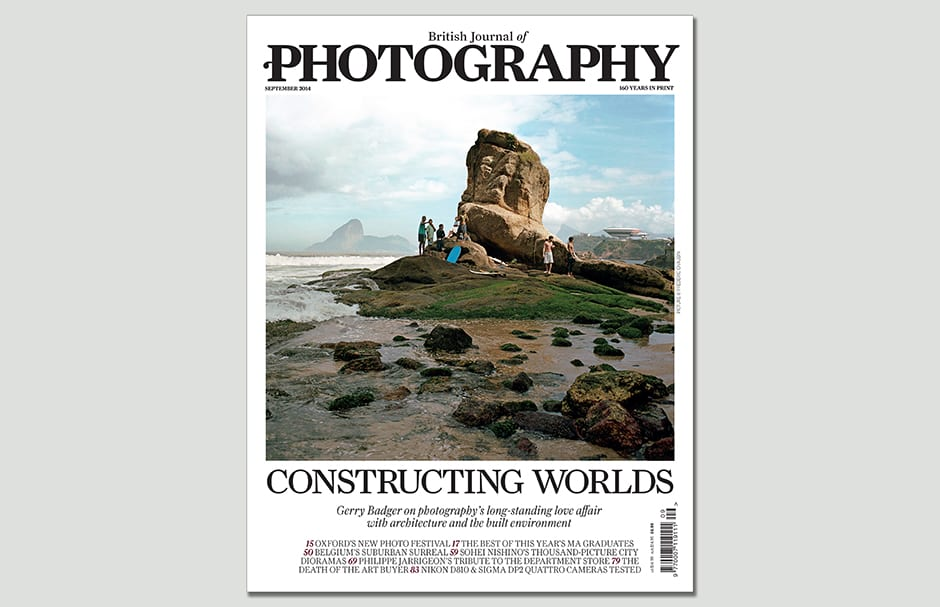 Frédéric Chaubin provides the cover image for our special issue on architecture and the built environment
