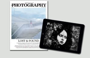 May's covers for print and iPad, featuring Charlotte Tanguy (left) and Michael Ackerman (right)