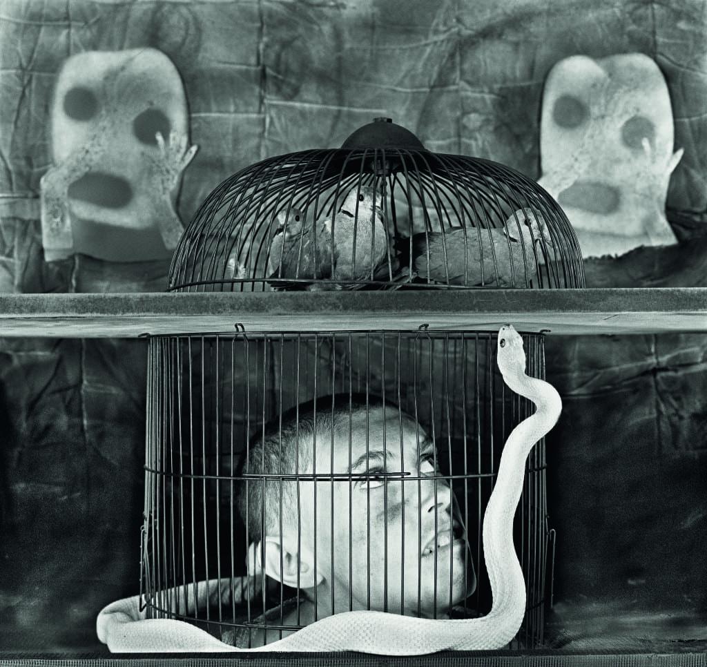 Caged, 2011 © Roger Ballen