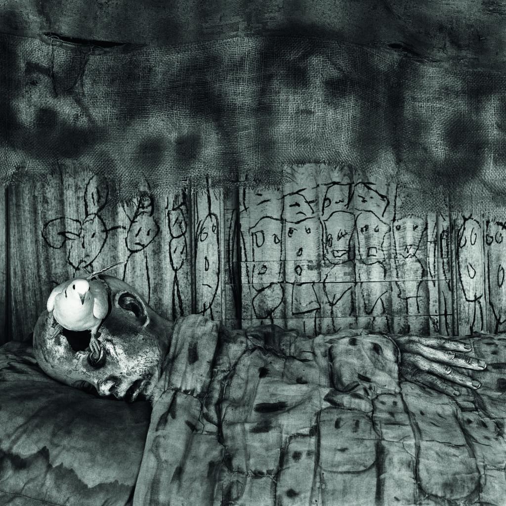 Deathbed, 2010 © Roger Ballen