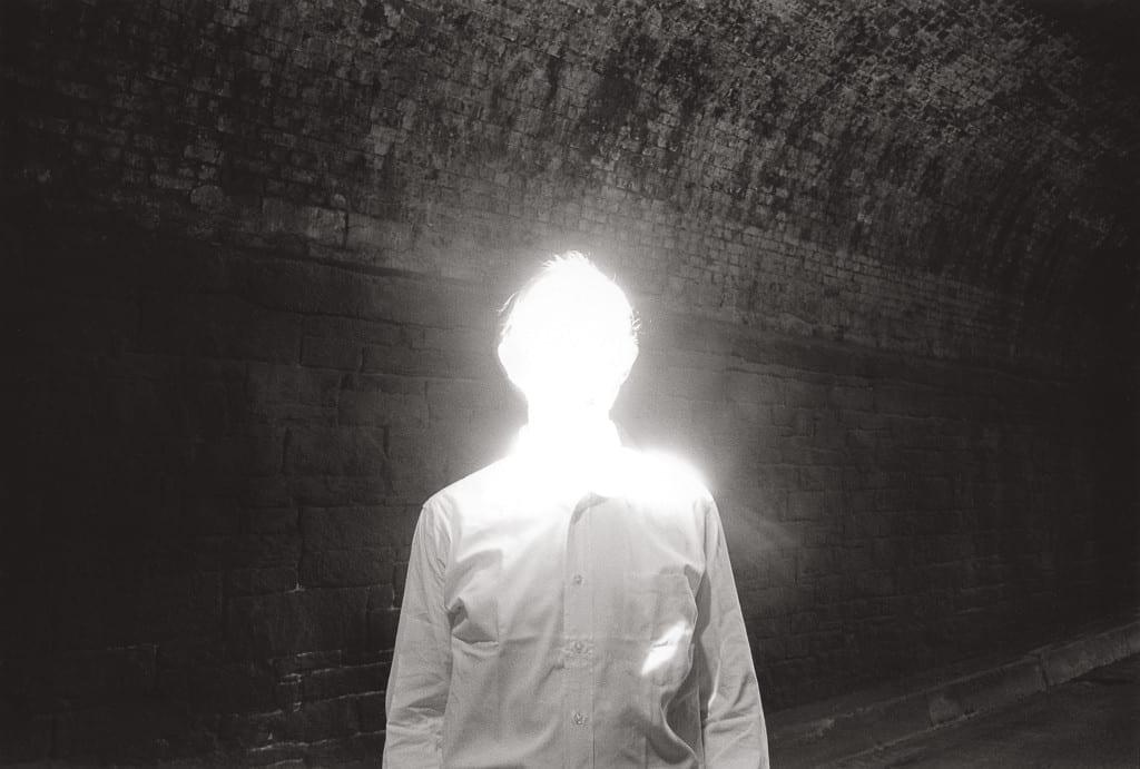 The Illuminated Man, 1968 © Duane Michals. Courtesy Admira, Milan/Clara Maria Sels Gallery