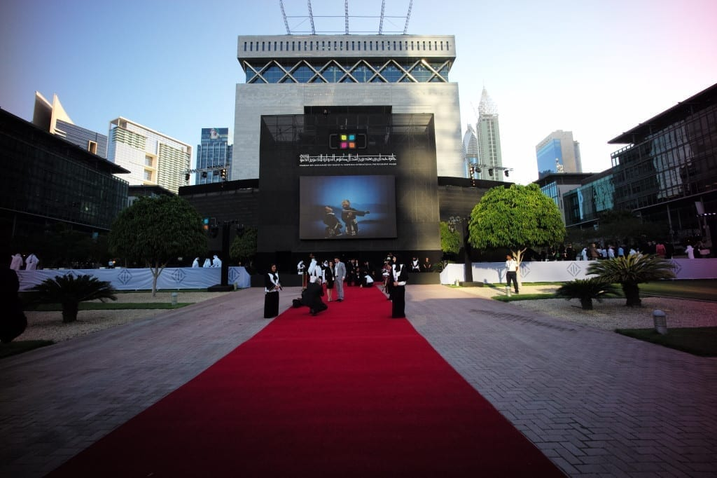 Outside the HIPA 2013-14 grand ceremony, which took place at the Dubai International Financial Centre (DIFC) on the evening of 17 March. Image © Marc Hartog