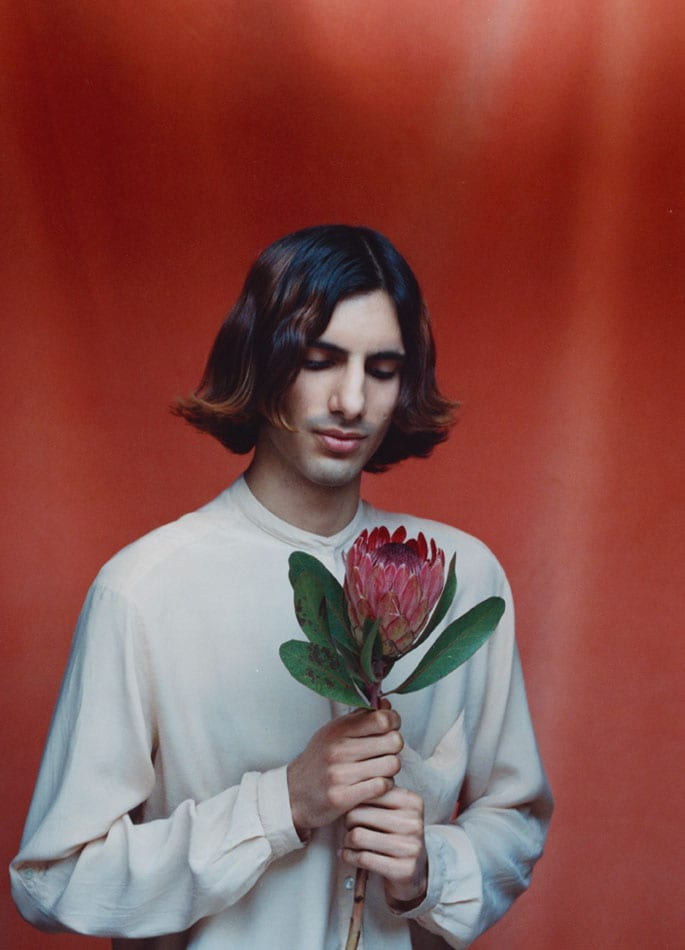 Daud, 2014, from the series Flower Boys © Jennifer Pattison