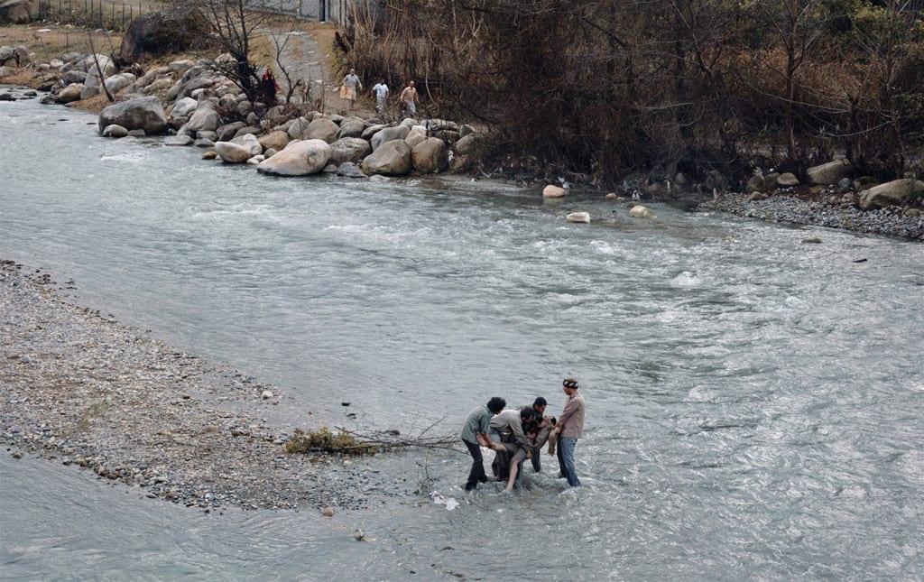 Samad Behrangi/3 September 1968, 2012, Aras River, Iran © Azadeh Akhlaghi