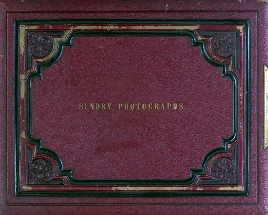 Original cover of Sir Benjamin Stone's Album 31, 1868-79 © The Library of Birmingham