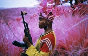 Safe From Harm, North Kivu, eastern Congo, 2012 © Richard Mosse, courtesy of the artist and Jack Shainman Gallery