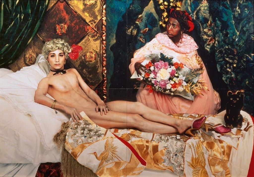 Portrait (Futago), 1988 by Yasumasa Morimura