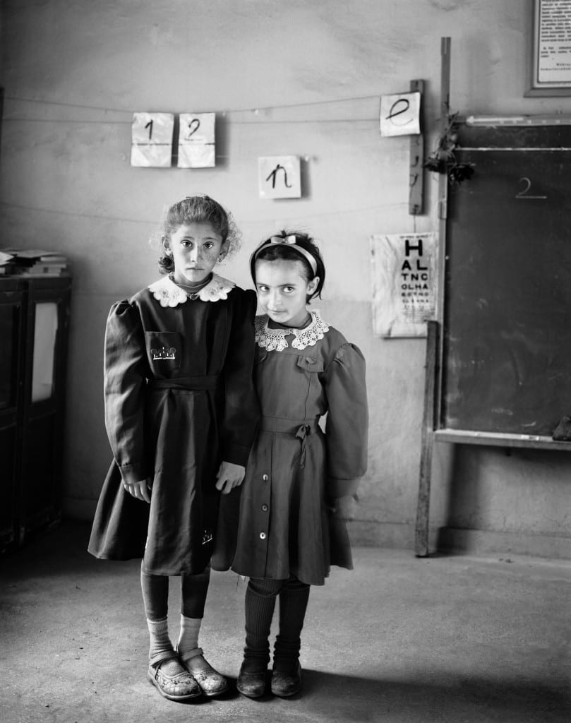 The Rural schoolgirls of the Eastern Anatolian borderlands. Image © Vanessa Winship
