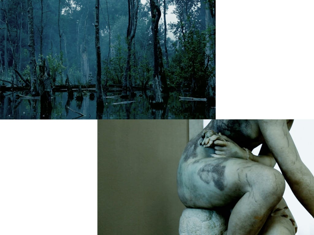 Film stills from In Search of Lightning, 2012. A 5-minute loop HD video with sound © Esther Teichmann