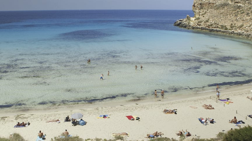 Rabbit Beach, Lampedusa. Image © Zed Nelson/Institute