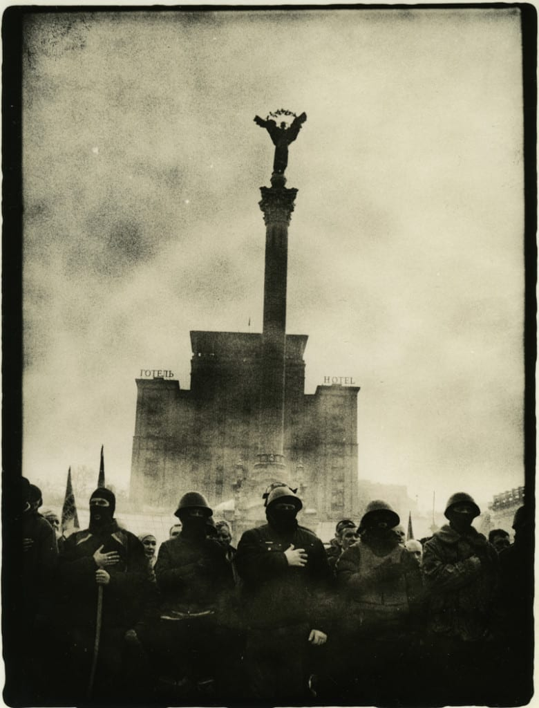 Euromaidan published by Riot Books. Image © Sergiy Lebedynskyy and Vladislav Krasnoshek