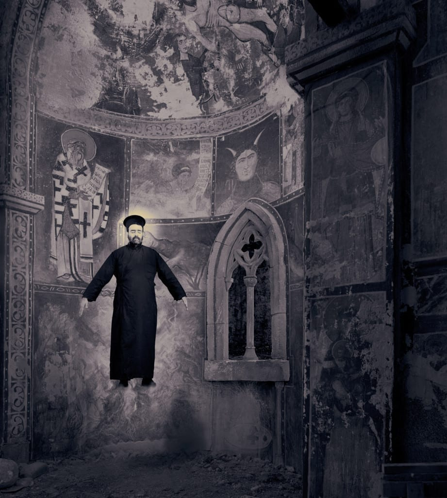 The Miracle of Levitation, 2002, from the series, Miracles & Co. Image © Joan Fontcuberta, courtesy Media Space