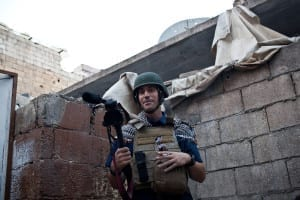 James Foley, Syria 2012