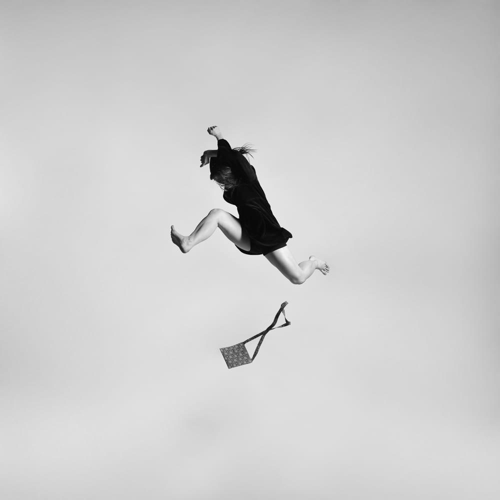 Veronika from the series, Gravity. Image © Tomas Januska