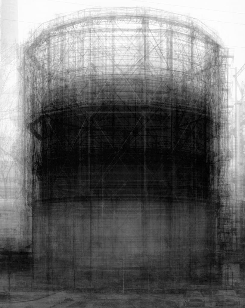 Homage to Bernd Becher, 2007. Image © Idris Khan