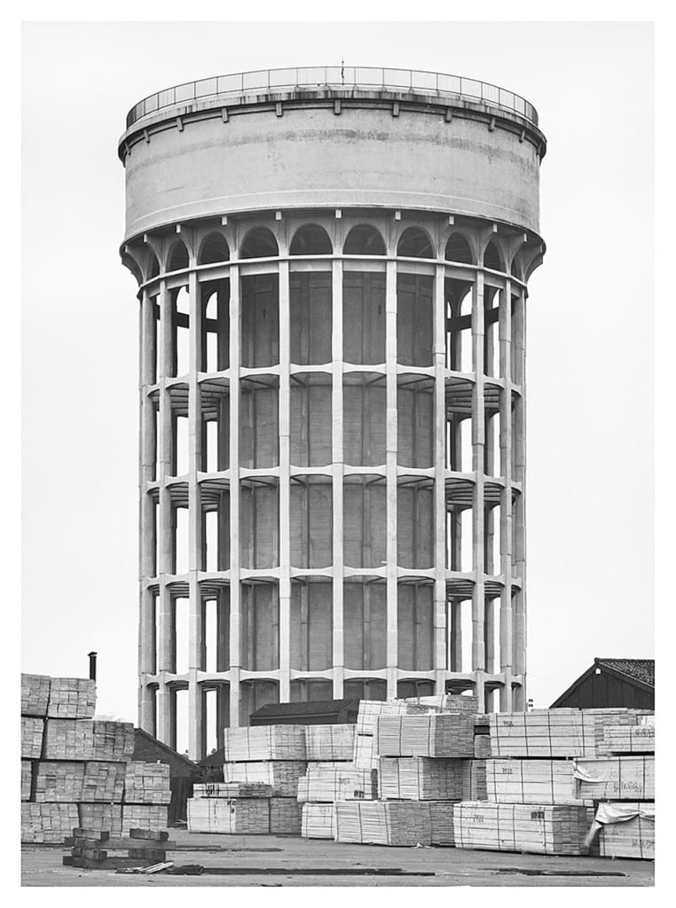 Goole, Great Britain, 1997, by Bernd and Hilla Becher. Image © Hilla Becher
