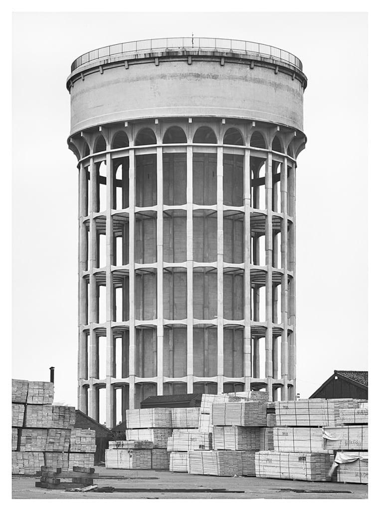 Goole, Great Britain, 1997, by Bernd and Hilla Becher. Image © Hilla Becher