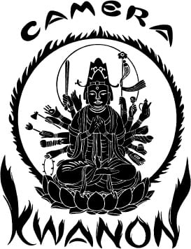 The Kwanon logo depicts the Buddhist goddess of mercy
