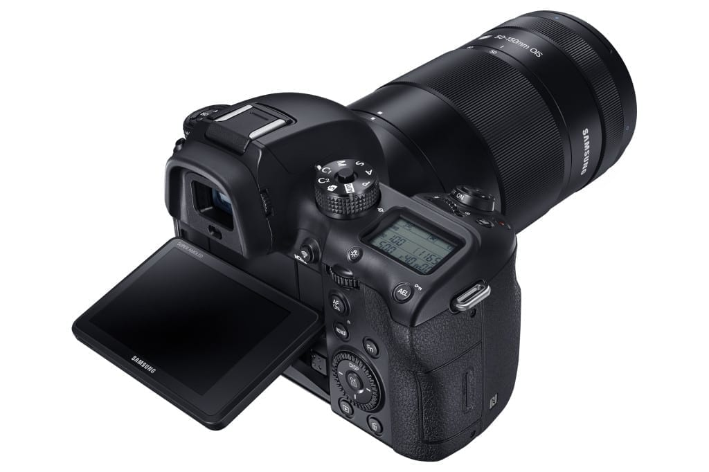 The NX1 comes with an array of pro-spec features for capturing both still and moving images