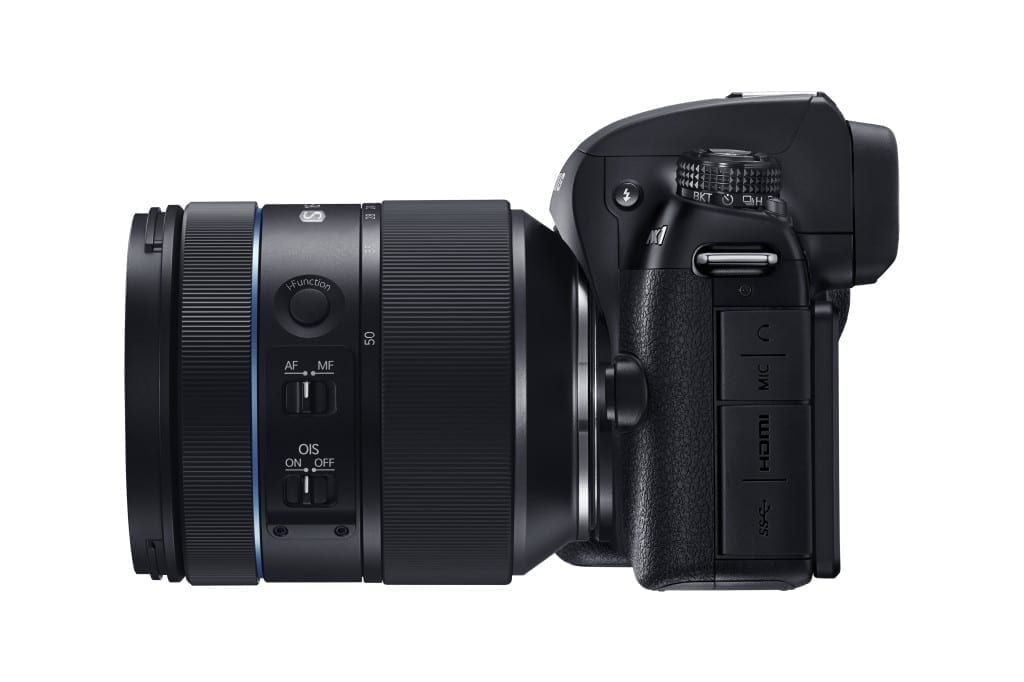 The NX1 with 16-50mm lens