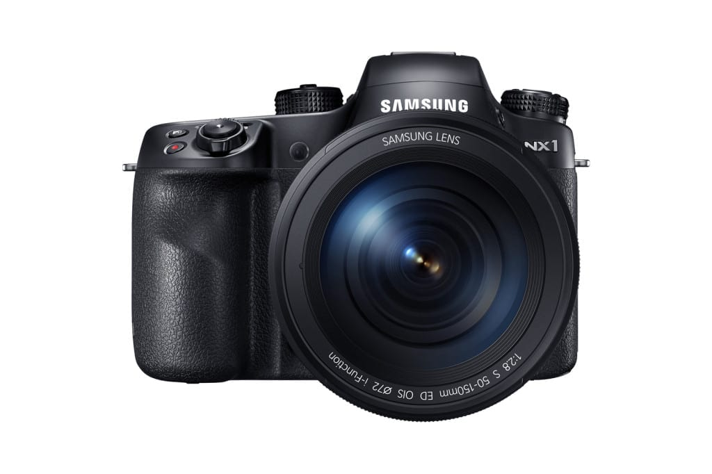 Samsung's new flagship compact system camera, the NX1