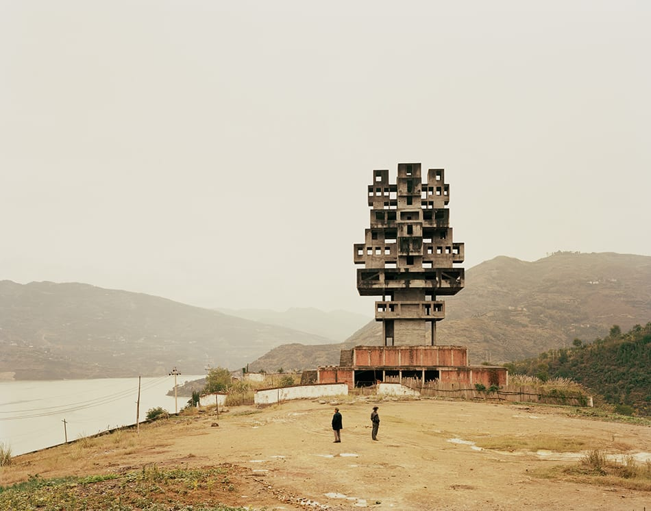 Fengjie III (Monument to Progress and Prosperity), Chongqing Municipality, 2007. Image © Nadav Kander, courtesy Flowers gallery