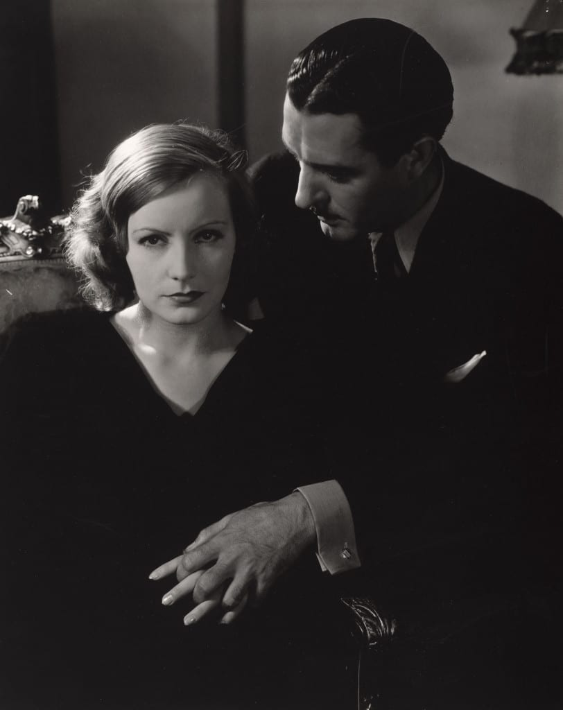 Greta Garbo and John Gilbert, 1928. Bequest of Edward Steichen by direction of Joanna T. Steichen and George Eastman House. © 2014 The Estate of Edward Steichen / Artists Rights Society (ARS), New York