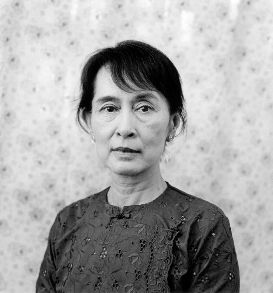 Aung San Suu Kyi, activist, Burma, 2011. Image © Mariana Cook