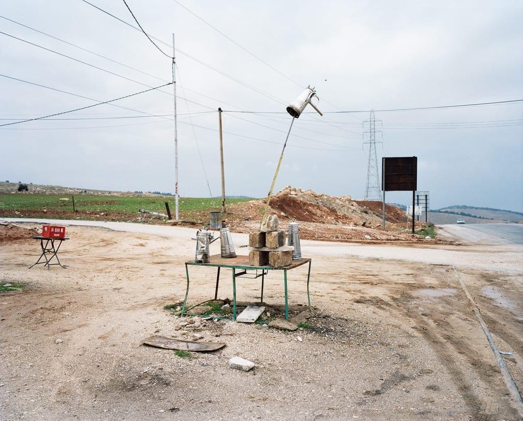 Near Mafraq, Jordan, 2009. From the series, The Arabian Monument, 2007-2011. Image © Oliver Hartung