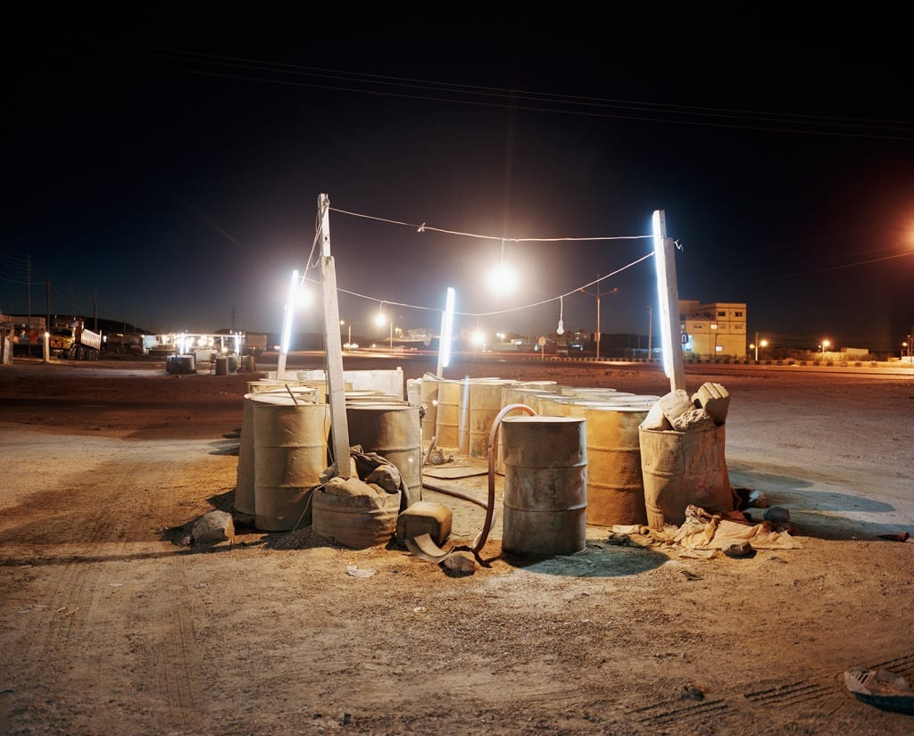 Ma'an, Jordan, 2009. From the series, The Arabian Monument, 2007-2011. Image © Oliver Hartung