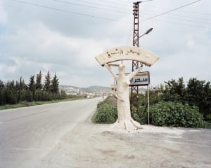 The lure of the east, from Latakia to Jisr Ash-Shughur, Syria, 2009. From the series, The Arabian Monument, 2007-2011. Image © Oliver Hartung