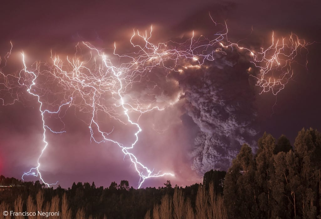 Apocalypse, winner in the Earth's Environments category (c) Francisco Negroni, courtesy of the Wildlife Photographer of the Year 2014
