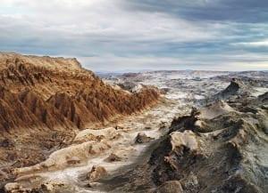 Moon Valley, Atacama desert, Lunar Robotic Research [NASA], Chile, 2007 © Vincent Fournier/ Institute