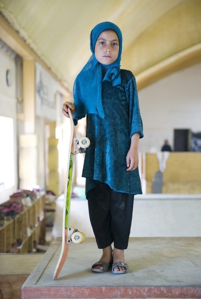 2nd Prize: Skate Girl, from the series The Skate Girls of Kabul, May 2014 © Jessica Fulford-Dobson