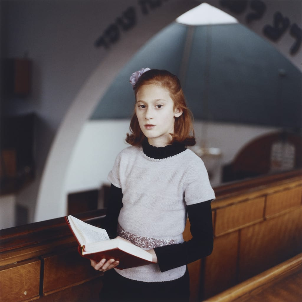 John Kobal New Work Award: Chayla at Shul, from the series Purity, January 2014 © Laura Pannack