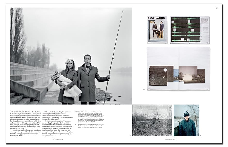 Sputnik Photos' position at the centre of the continent is the collective's strength, operating between East and West to give a more nuanced portrait of Europe and its peoples. Images ©Sputnik