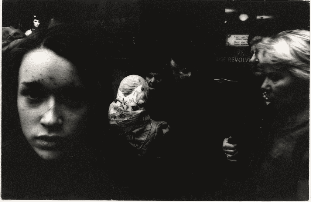 'Big face, front of Macy's', William Klein (1928). Gelatin silver print, New York, 1955–1956. Collection Rijksmuseum, purchased with the support of Baker & McKenzie