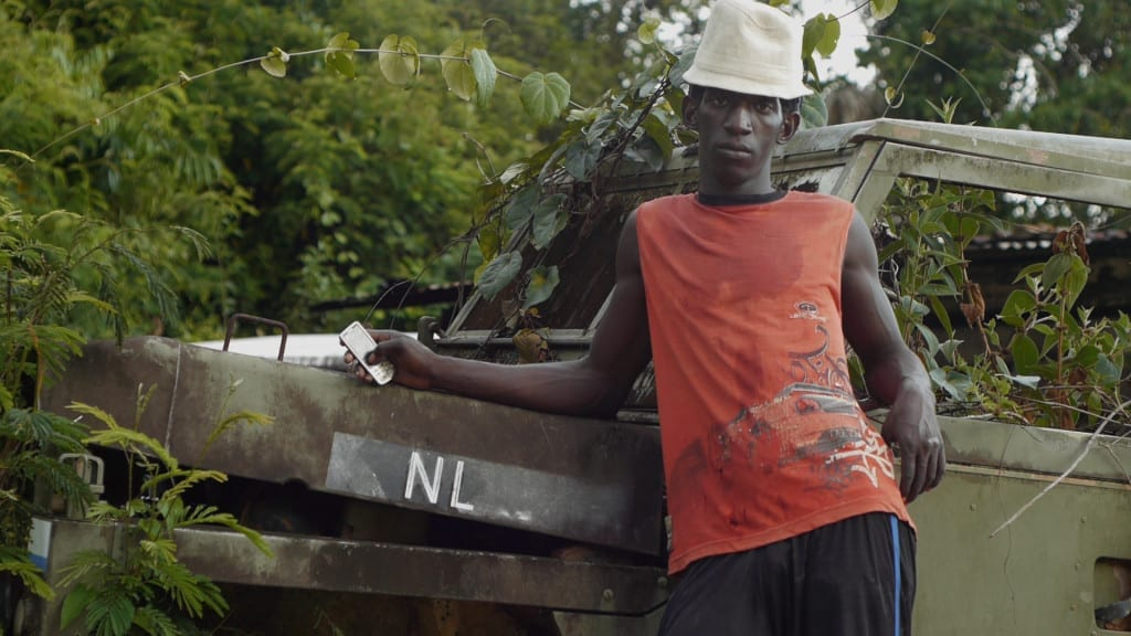 Pepe, Artisanal Gold Miner in Suriname, 2012 (from Empire) © Kel O'Neill & Eline Jongsma