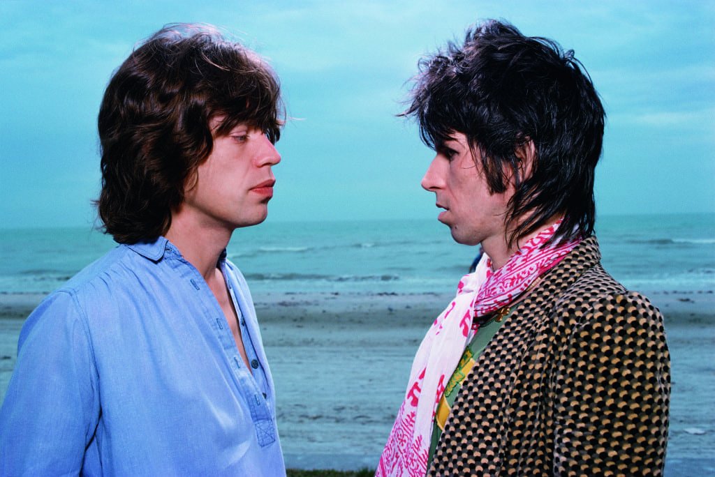 Sanibal Island. 1976. An outtake from the session for the record Black and Blue. Photo by Hiro. ©The Rolling Stones