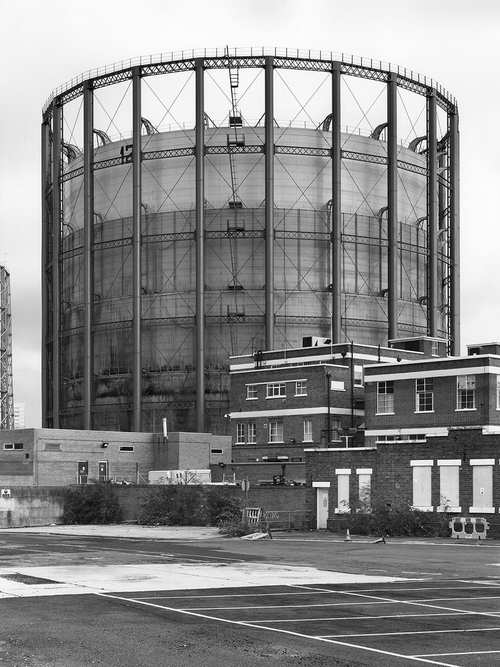 Gasometer, Aston, Birmingham, Great Britain, 2008