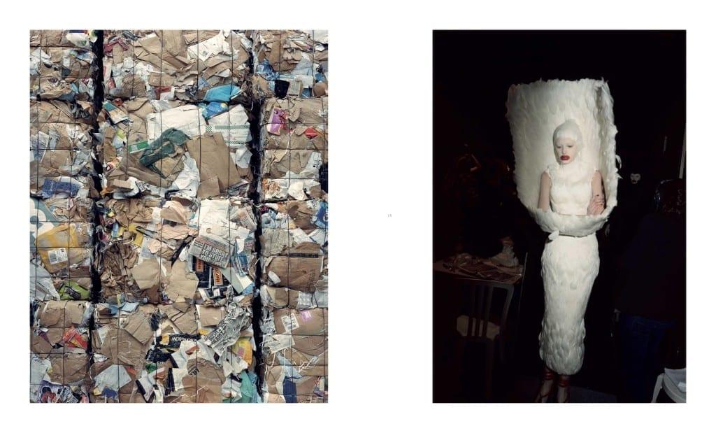 Untitled from the series Alexander McQueen Working Process 2008-09 © Nick Waplington