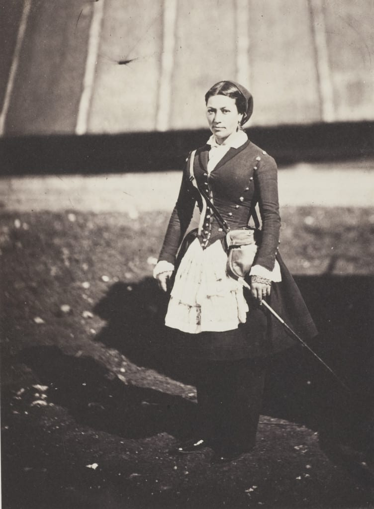 Cantiniere 1855 © Roger Fenton, courtesy Salt and Silver exhibition, Tate Modern