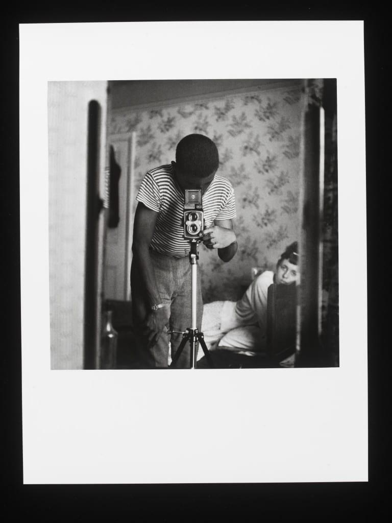 Self-Portrait in Mirror, London, 1964 © Armet Francis