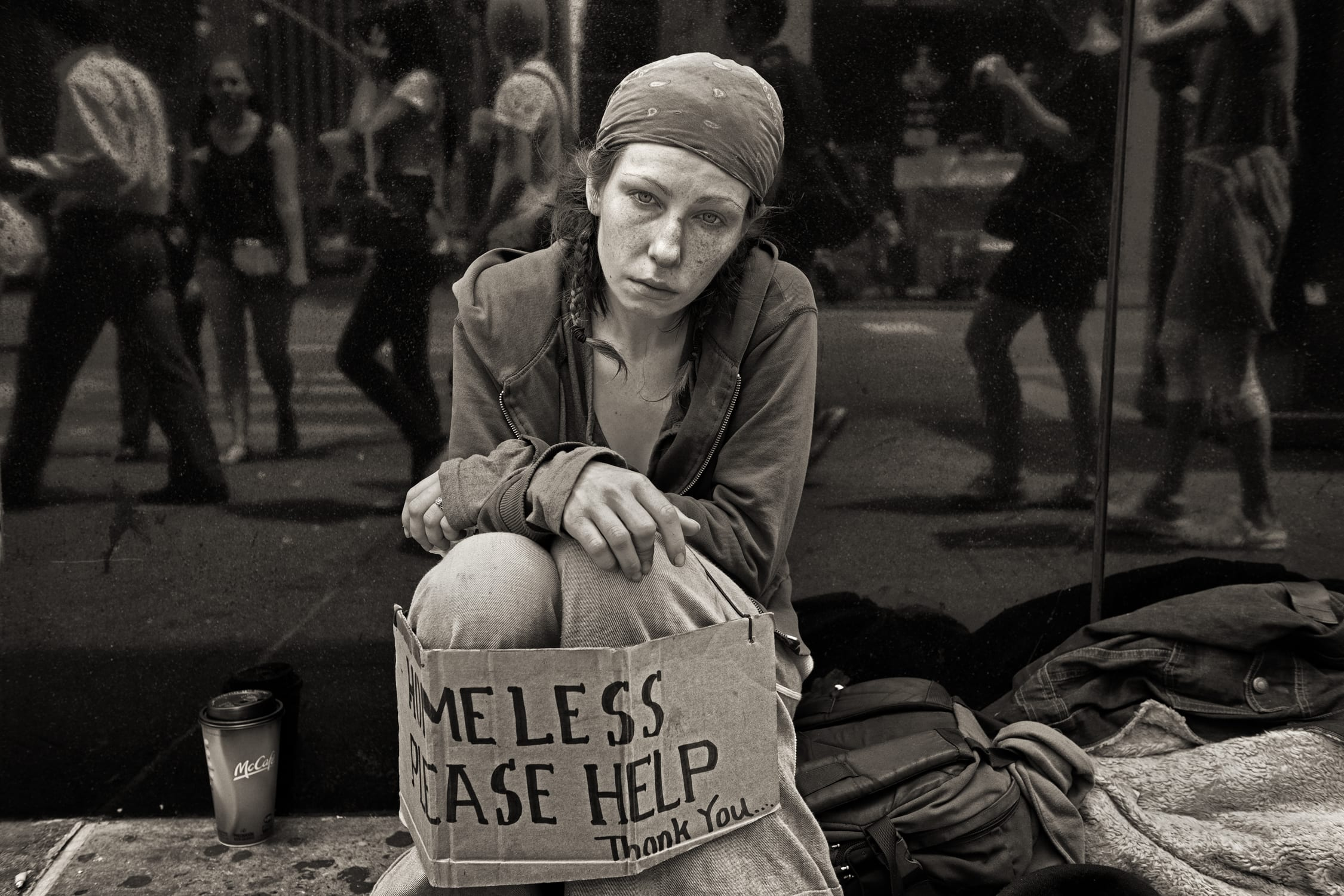 John Conn Signs Of The Homeless British Journal Of