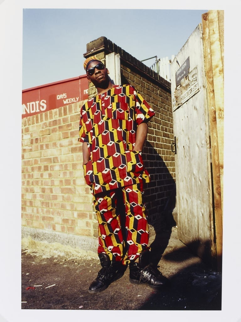 African Homeboy - Brixton, London, 1987 © Normski
